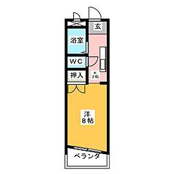 水野ビル[2階]の間取り