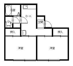 神戸海産物長崎ビル[3階]の間取り