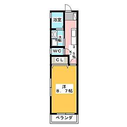 COAT[2階]の間取り
