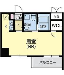 CASSIA天王寺東(旧名称:フェニックスレジデンス桑津)[0405号室]の間取り