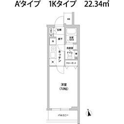 コンポジット宮前平[2階]の間取り