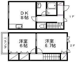 メゾンK[5号室]の間取り