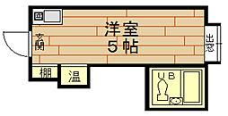 ラパンジール本田2[9階]の間取り