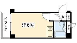 リッチライフ甲子園III[2階]の間取り