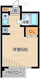 SAKURA館[2階]の間取り