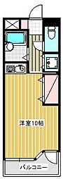 ウインズ藤沢[4階]の間取り