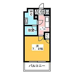 箱崎パルク[4階]の間取り