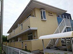 兵庫県姫路市三左衛門堀東の町の賃貸アパートの外観
