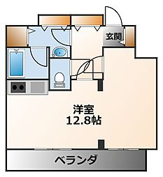 ドルチェ甲子園[1階]の間取り