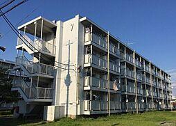 東京都昭島市郷地町3丁目の賃貸マンションの外観