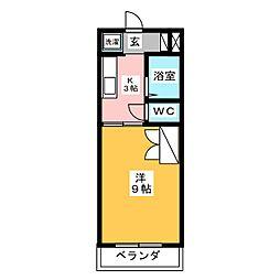 マンションKasuga[3階]の間取り
