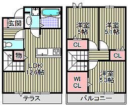 (仮称)D−room和泉市伯太[101号室]の間取り