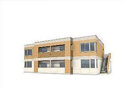 袖ケ浦市代宿97番5他新築アパート[201号室]の外観