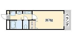 ウィンズ12号館[4階]の間取り