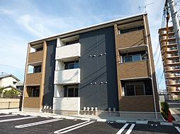 岡山県倉敷市浜町2丁目の賃貸アパートの外観