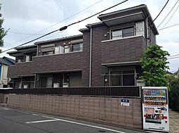 東京都世田谷区船橋2丁目の賃貸アパートの外観