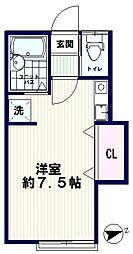 AZUMI-SOU(アズミソウ)[101号室]の間取り