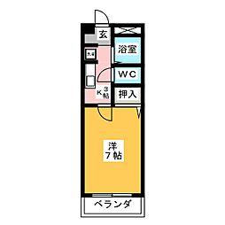 SHIBATA弐番館[3階]の間取り