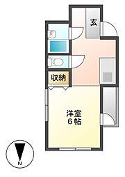 メゾン・ド・星ヶ丘セーヌ[3階]の間取り