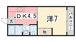 舞ハウス[101号室]の間取り