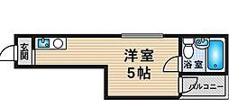 プレアール新大阪III[4階]の間取り