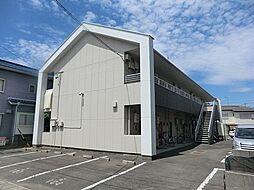 愛知県安城市緑町2丁目の賃貸アパートの外観