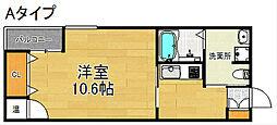 Fメゾン北加賀屋I番館[2階]の間取り