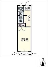 タクト1[2階]の間取り