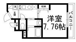 リヴィックスマンション[0502号室]の間取り