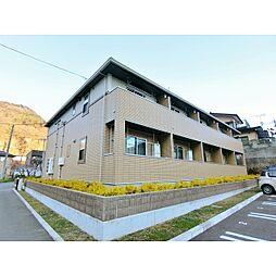 長野県長野市新諏訪の賃貸アパートの外観