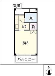 サープラスK−II[2階]の間取り