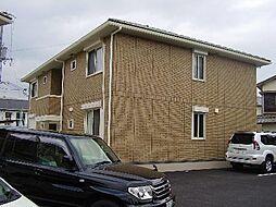 パインハイツ B棟[2階]の外観