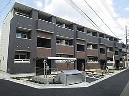 グラディート[1階]の外観