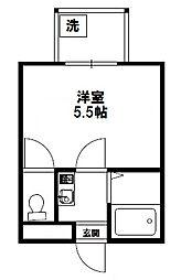 ジオナ新大阪.[9階]の間取り