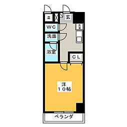 アーバンシティ幸田[7階]の間取り
