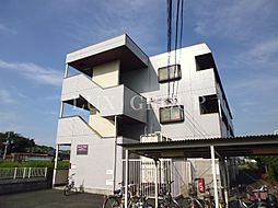 東京都東大和市奈良橋5丁目の賃貸マンションの外観