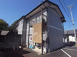 岐阜県岐阜市古市場の賃貸アパートの外観
