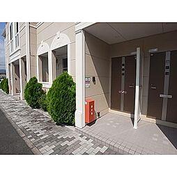 静岡県静岡市葵区松富の賃貸アパートの外観