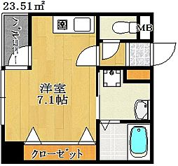 フィリアルコート[4階]の間取り