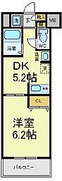 フェニックス日本橋高津[5階]の間取り