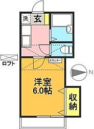 TOPHILL代田[203号室]の間取り