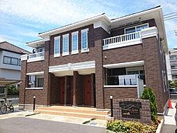 兵庫県姫路市北原の賃貸アパートの外観