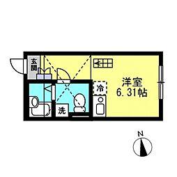 SJ House IV[102号室]の間取り