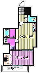 (仮称)川口市芝新町ヒルズマンション225[602号室]の間取り