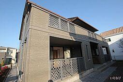 広島県福山市新涯町3丁目の賃貸アパートの外観