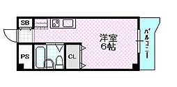 ラ・レジダンス・ド・京橋[2階]の間取り