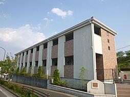 東京都八王子市七国1丁目の賃貸アパートの外観