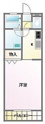 佐藤壱番館[2階]の間取り