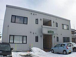 北海道札幌市手稲区富丘三条5丁目の賃貸アパートの外観