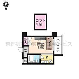 ACT21(家具付)[1007号室]の間取り